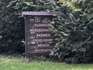 Liste der Ortsteile des ehemaligen Gemeinde Koslar (1972)